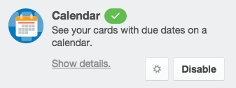 "Then, find the Calendar and click ""Enable""."