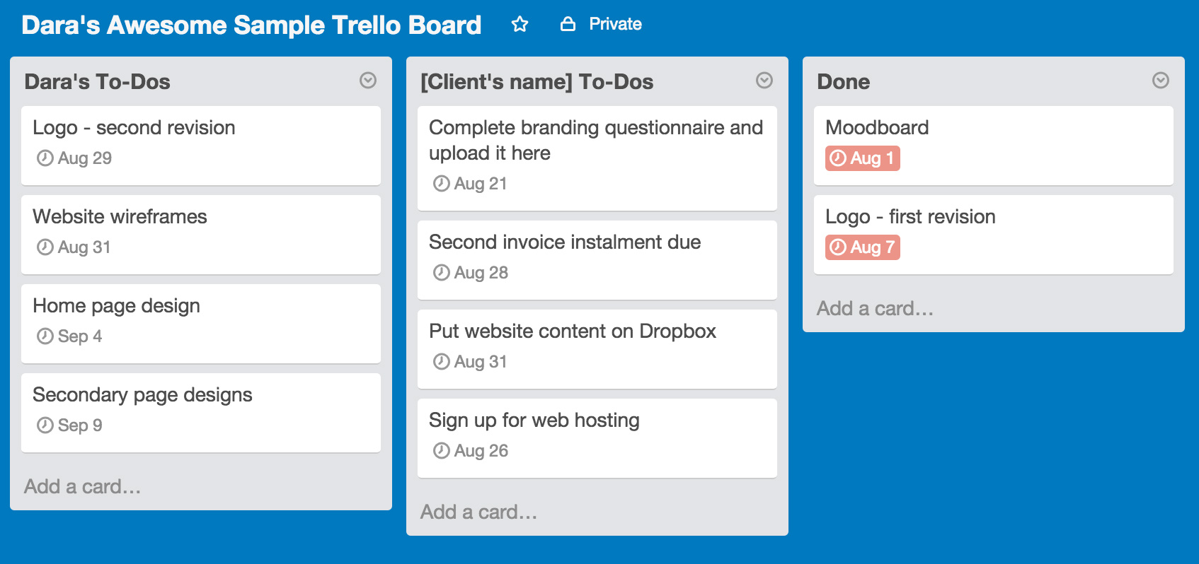 trello-sample-client-board